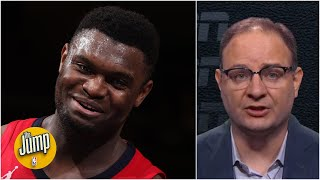 Zion Williamson's love of MSG is something for people to 'keep their eye on' - Woj | The Jump
