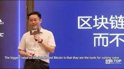 BTC.TOP Jiang Zhuoer, shared the secret for getting rich in the mining, English Subtitle.