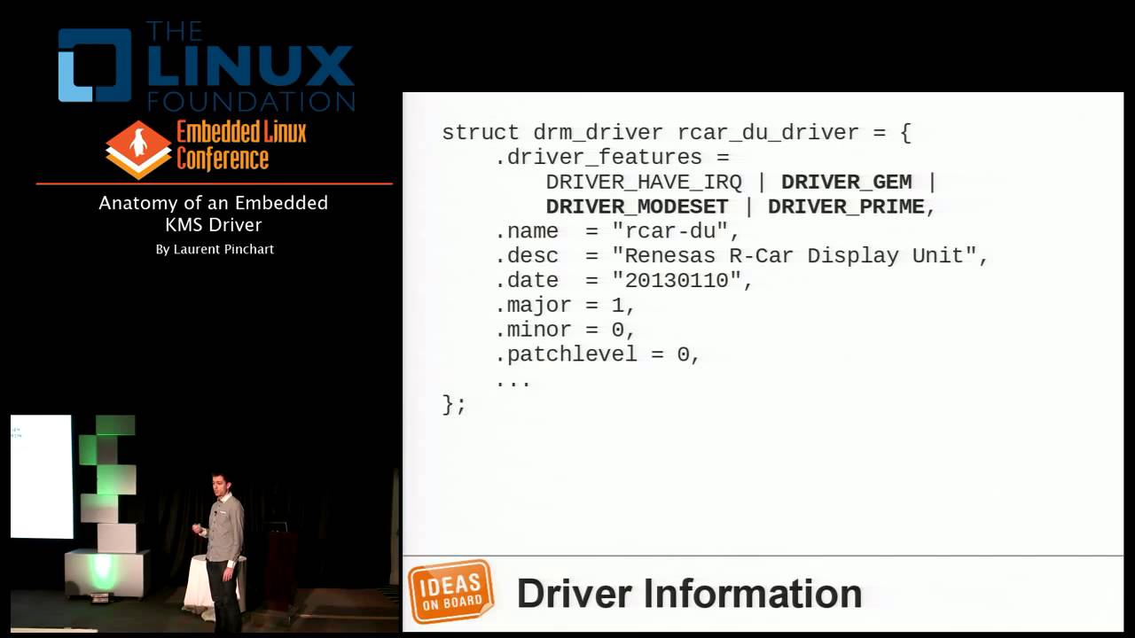 Embedded Linux Conference 2013 - Anatomy of an Embedded KMS Driver