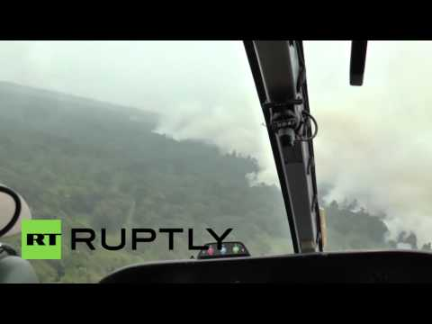Indonesia: Russian EMERCOM planes help battle forest fires in Sumatra