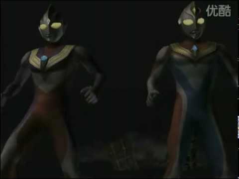 Ultraman Fighting Evolution 3 Tiga Dyna Vs Gatanazoa