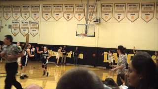 Shore Conference Girls Basketball: St John Vianney-58 vs Manasquan-51 1/9/15