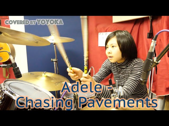 Adele - Chasing Pavements / Covered by Yoyoka, 10 year old
