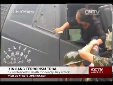 12 sentenced to death over Xinjiang violence in July