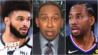 Stephen A. reacts to Nuggets vs. Clippers Game 1: Denver can't stop Kawhi | First Take