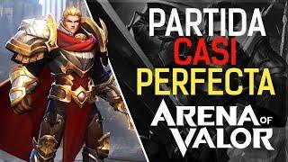 PARTIDA CASI PERFECTA | Preparación para el #AoVNPT | Arena of Valor