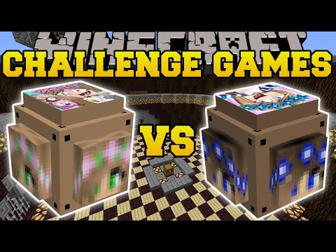Minecraft: LITTLE KELLY VS LITTLE CARLY CHALLENGE GAMES - Lucky Block Mod - Modded Mini-Game