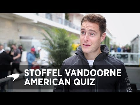 The Big American Quiz | Stoffel Vandoorne