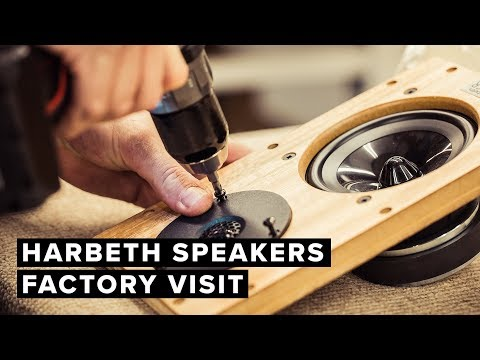 Harbeth Loudspeakers Factory Visit