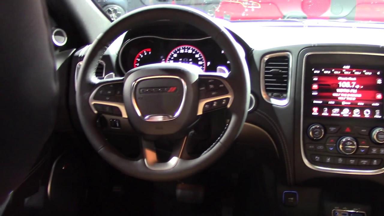 Interiors And Exteriors 2017 Dodge Durango Citadel 3 6l V6 Awd Suv