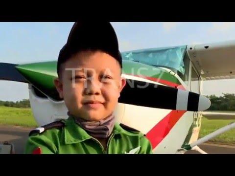 Buatku Tersenyum TRANS7   Ashar Farial   Genesa Flight Academy