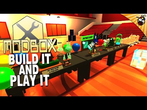 ModBox Gameplay - Build it and Play it - HTC Vive Sandbox Game