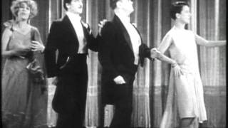"Beatrice Lillie, Louise Fazenda, Frank Fay & Lloyd Hamilton in ""Recitations"" 1929"