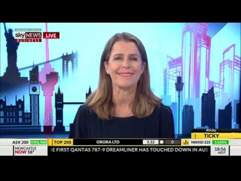 SkyNews Business: Competing in the age of global retail giants entering Australia