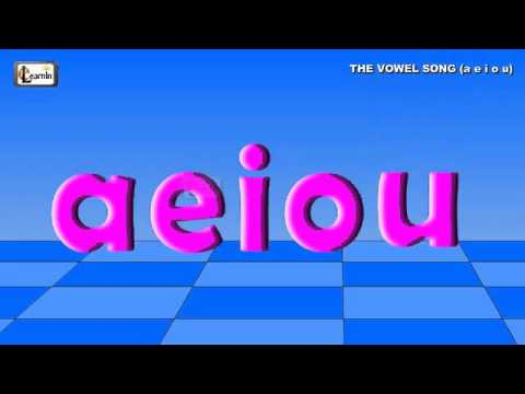 The Vowel Song  a e i o u   Vowels song for children   Phonics song   Vowels aeiou sounds   elearnin