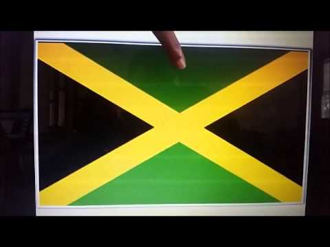 an analysis of jamaican flag Kerry james marshall's moca retrospective is the first time in a long time that the museum  dominated by the red-green-black of the pan-african flag,.