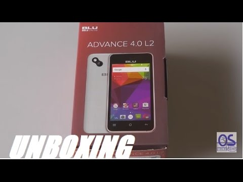 Unboxing: BLU Advance 4.0 L2 Android Smartphone - $40?!