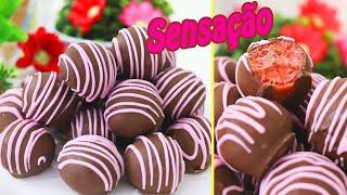 Bombom Sensação Fácil e Delicioso Para venda ou dar de Presente