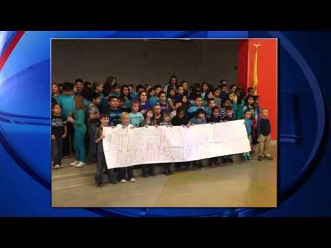 Rio Rancho elementary school celebrates National Law Enforce KOB Albuquerque, NM