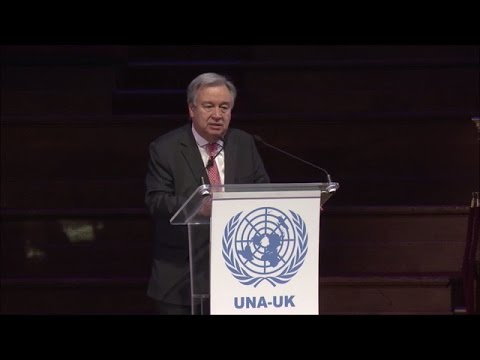 UN Secretary-General at event organised by the United Nations Association – UK
