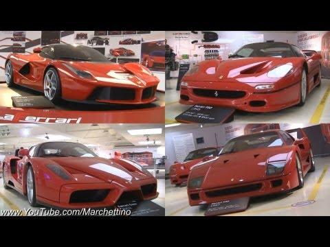 The BEST Ferrari Show Ever - LaFerrari, Enzo, F50, F40, GTO & More