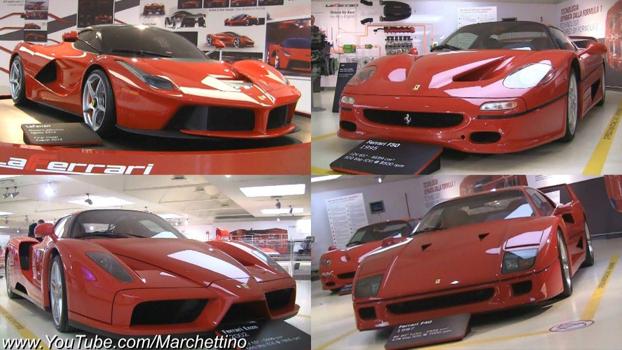 The Best Ferrari Show Ever Laferrari Enzo F50 F40