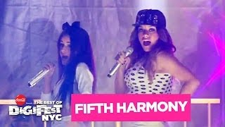 Fifth Harmony performs live at DigiFest NYC on June 8, 2014. Live s...