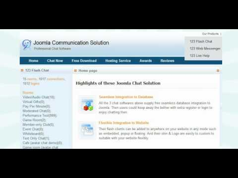 Chat Room Joomla from YouTube · Duration:  2 minutes 27 seconds