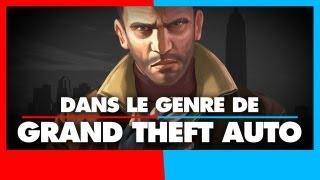3 jeux dans le genre de Grand Theft Auto