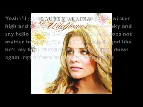 Dirt Road Prayer Lauren Alaina Lyrics (HD)