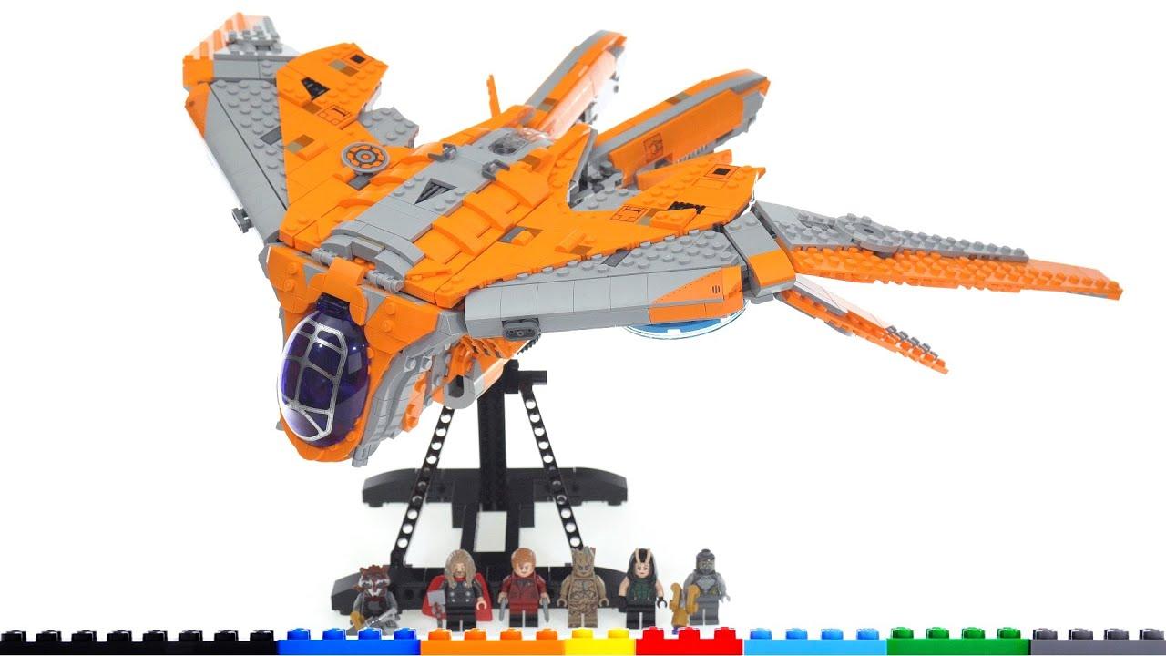 LEGO Marvel Infinity Saga Guardians' Ship (Benatar) review! Set 76193 -- the more serious version