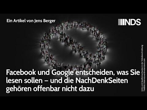 Facebook & Google entscheiden, was Sie lesen sollen