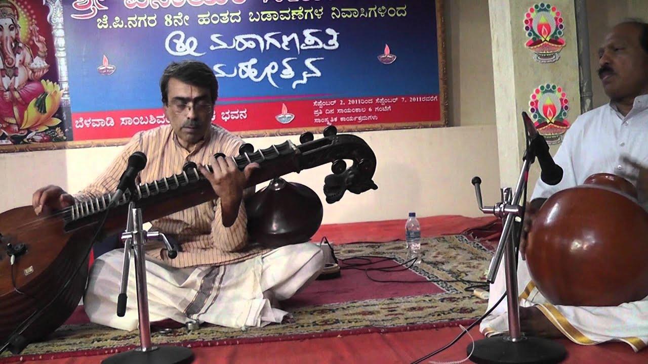 Vidwan D Balakrishna - Veena concert (1)