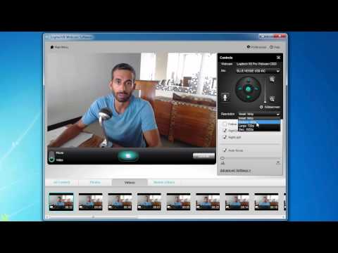 How To Make Videos Using a Logitech C910/C920 Webcam