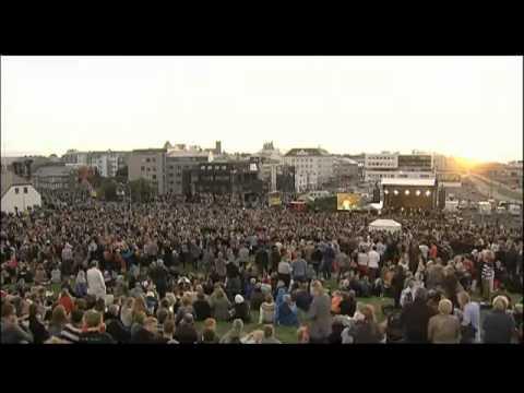 Eivør live in Reykjavík on August 18, 2012