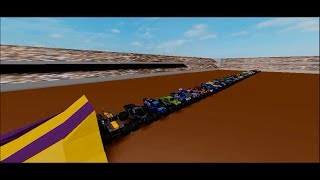 Ich springe 40 Roblox Monster Jam Trucks (Legacy Physics Abschied)