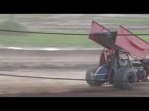 Paradise Speedway Brandyn Griffin 305 Practice 2 8/2/17
