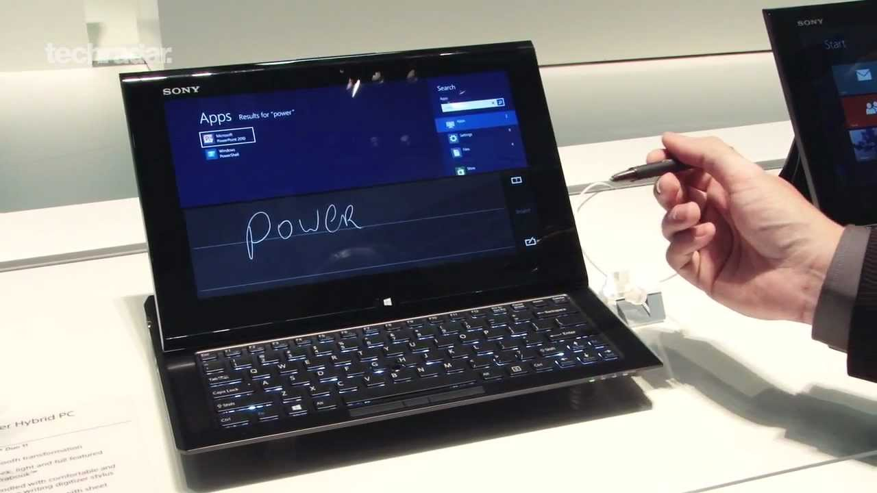 Windows 8 Tablet / PC / Ultrabook Hybrid - Sony VAIO Duo 11 Preview