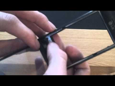 How to Replace a Digitizer on a Lg Gt540 Swift Android