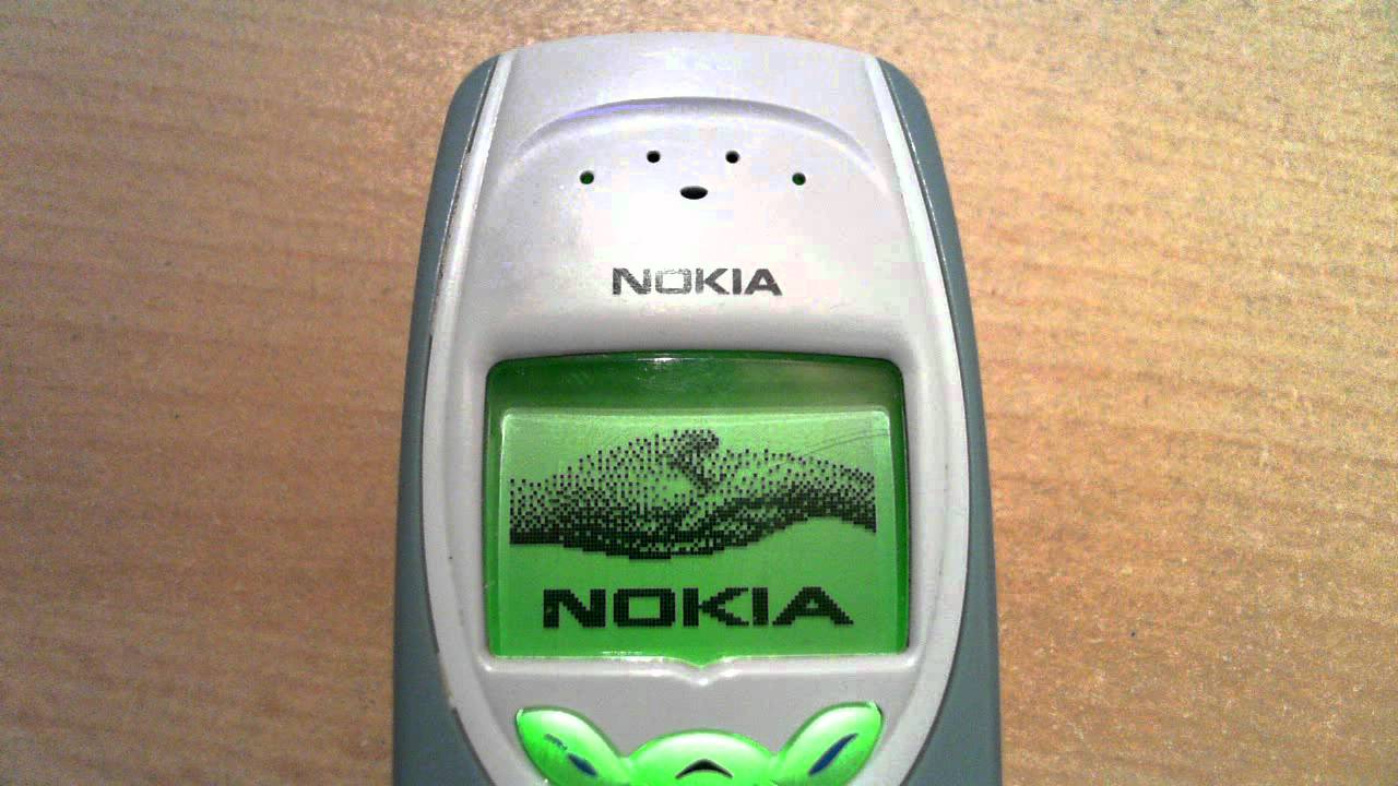 Nokia 3410 power on then off