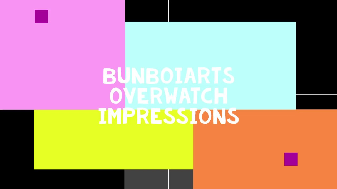 Overwatch Voice Impressions and Doodles