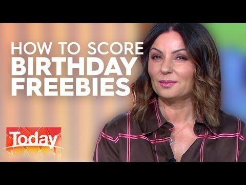 The Best Birthday Freebies   TODAY Show Australia