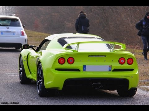 lotus exige v6 isotope green youtube. Black Bedroom Furniture Sets. Home Design Ideas
