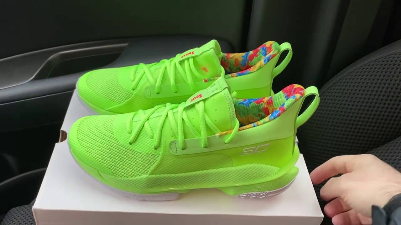 Under Armour Stephen Curry 7 Sour Patch