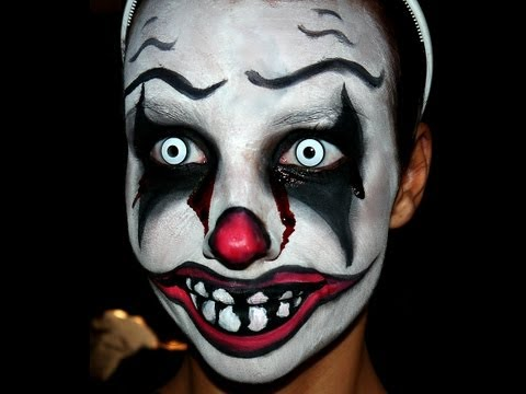 [Full-Download] Killer-clown-halloween-makeup-tutorial