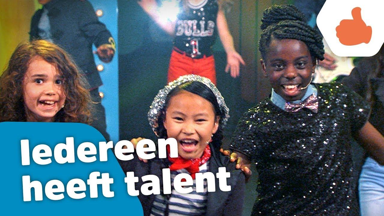 iedereen heeft talent offici 235 le videoclip kinderen