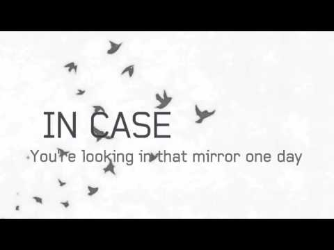 Demi Lovato   In Case Lyrics Video)