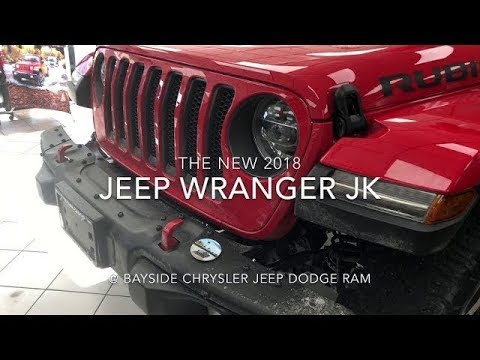 2018 Jeep Wrangler: The Most Capable Wrangler Ever At Bayside Chrysler Jeep  Dodge!