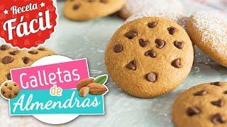 Galletas de almendras   Receta fácil   Quiero Cupcakes!