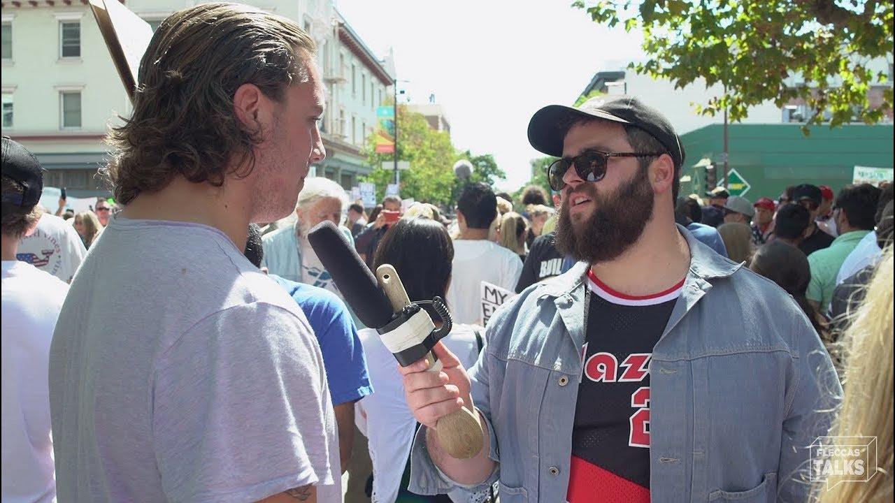 Berkeley Protesters Shut Down Free Speech Week | FLECCAS TALKS